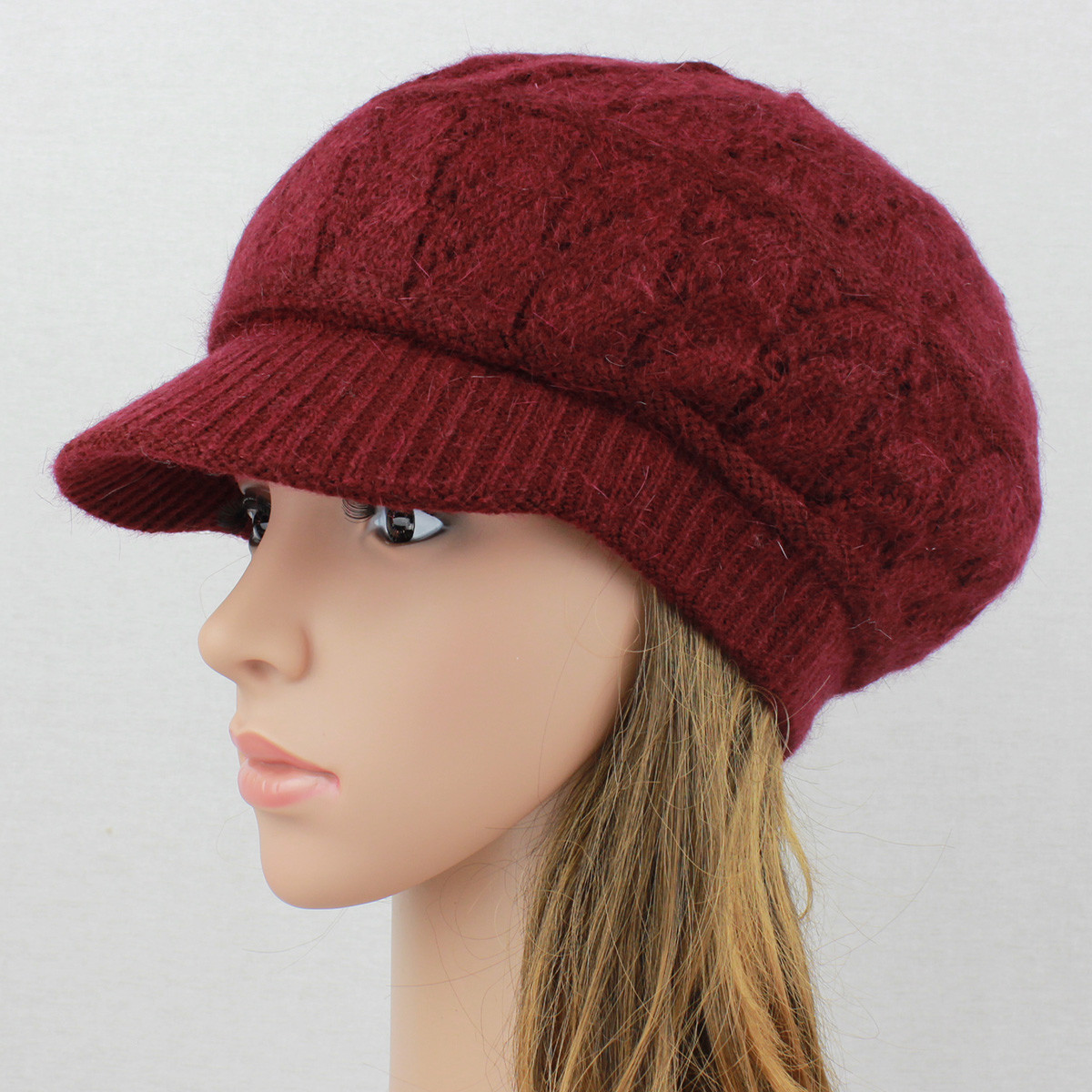 New Angora Knit Hat Brim Baggy Slouchy Crocheted Newsboy Knit Hat with Brim Of Contemporary 48 Pictures Knit Hat with Brim