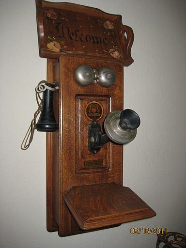 New Antique Phone that Was In My Dad S Farmhouse when He Was A Old Wooden Phone Of Adorable 43 Images Old Wooden Phone