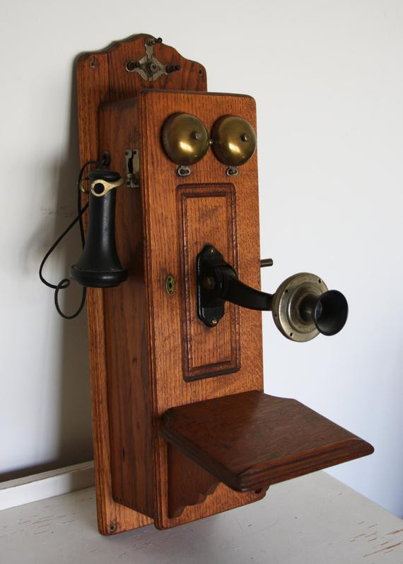 New Antique Telephone Oak Crank Wall Phone the Stromberg Carlson Antique Wall Telephone Of Superb 36 Ideas Antique Wall Telephone