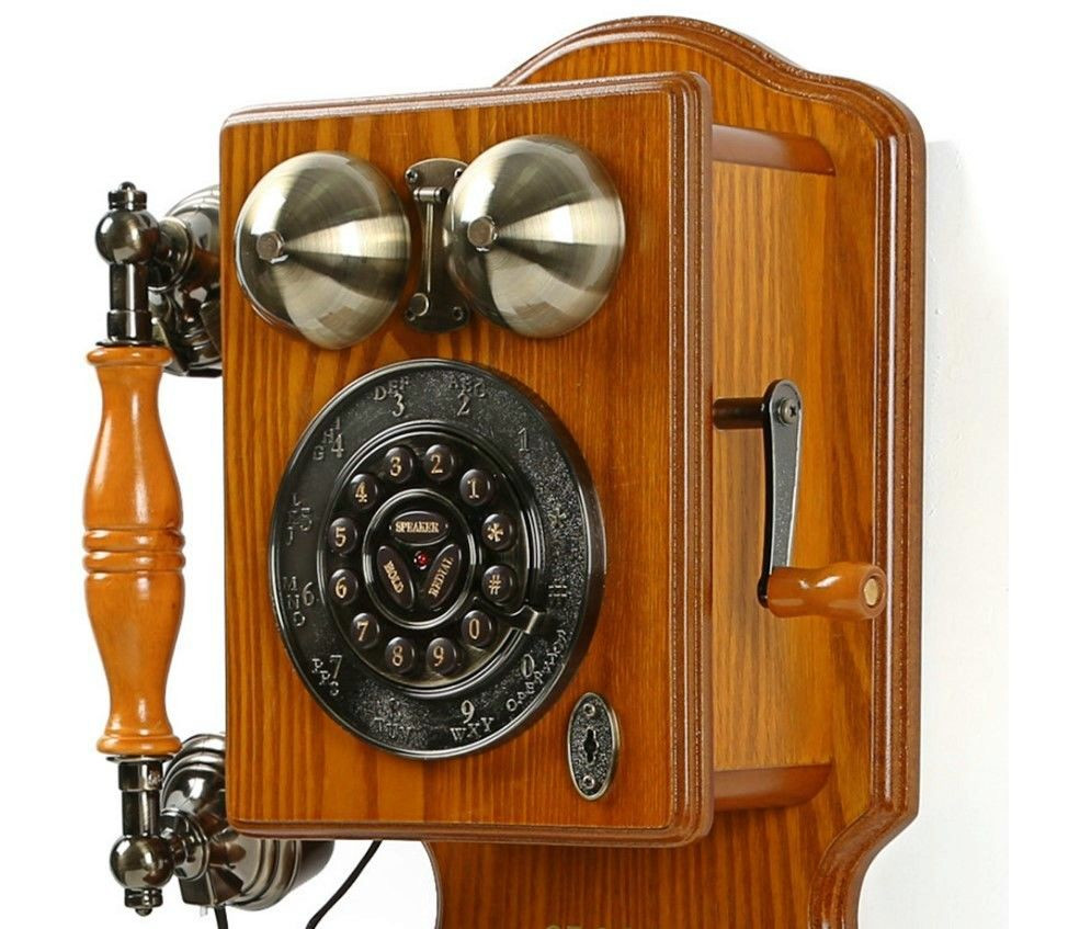 New Antique Wall Phone Vintage Retro Telephone Rotary Dial Old Old Fashioned Wall Phone Of Charming 47 Models Old Fashioned Wall Phone