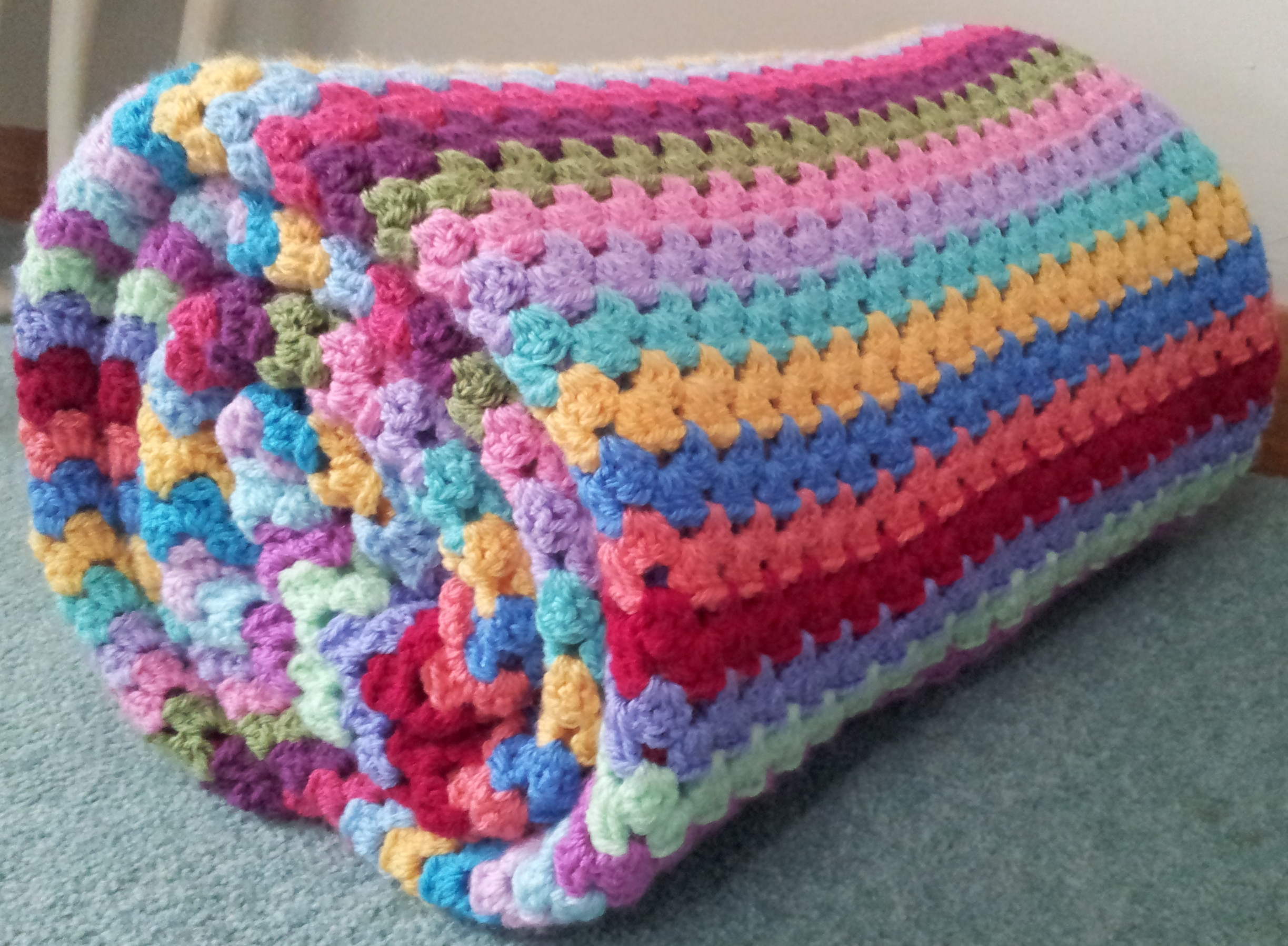 New attic 24 Granny Stripe Blanket and Edging – Tried and Granny Stitch Crochet Of Amazing 45 Models Granny Stitch Crochet