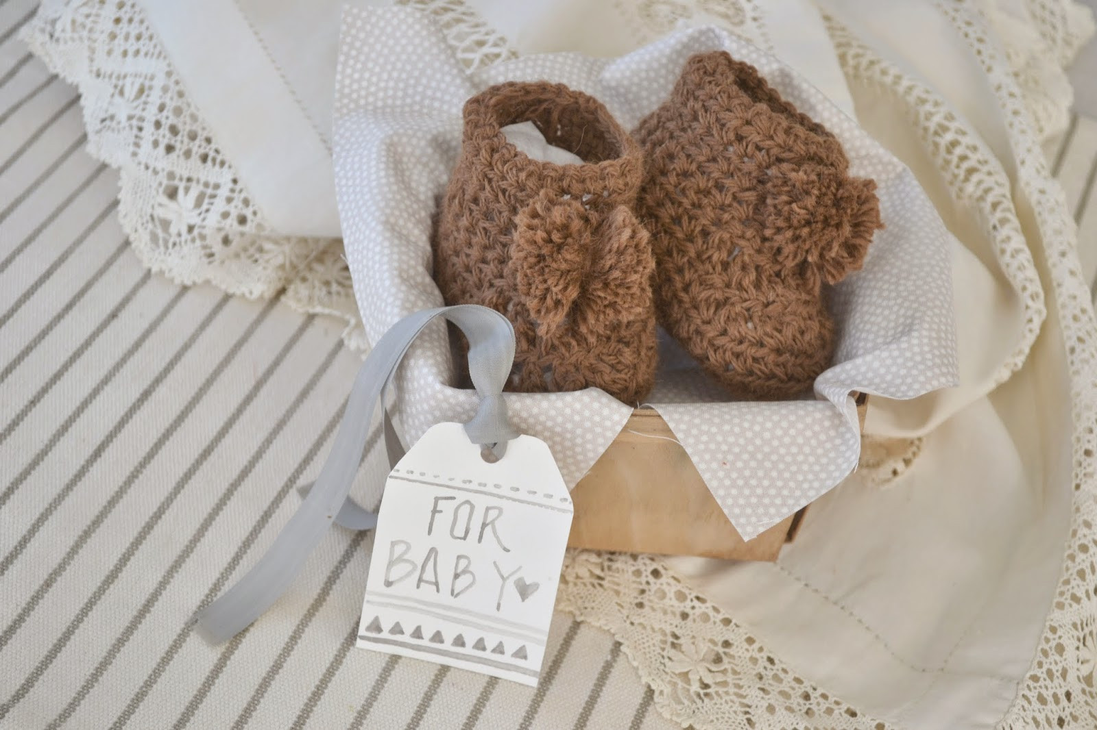 New attic Lace Handmade Baby Gift Crochet Newborn Booties Crochet Baby Gifts Of Brilliant 47 Ideas Crochet Baby Gifts