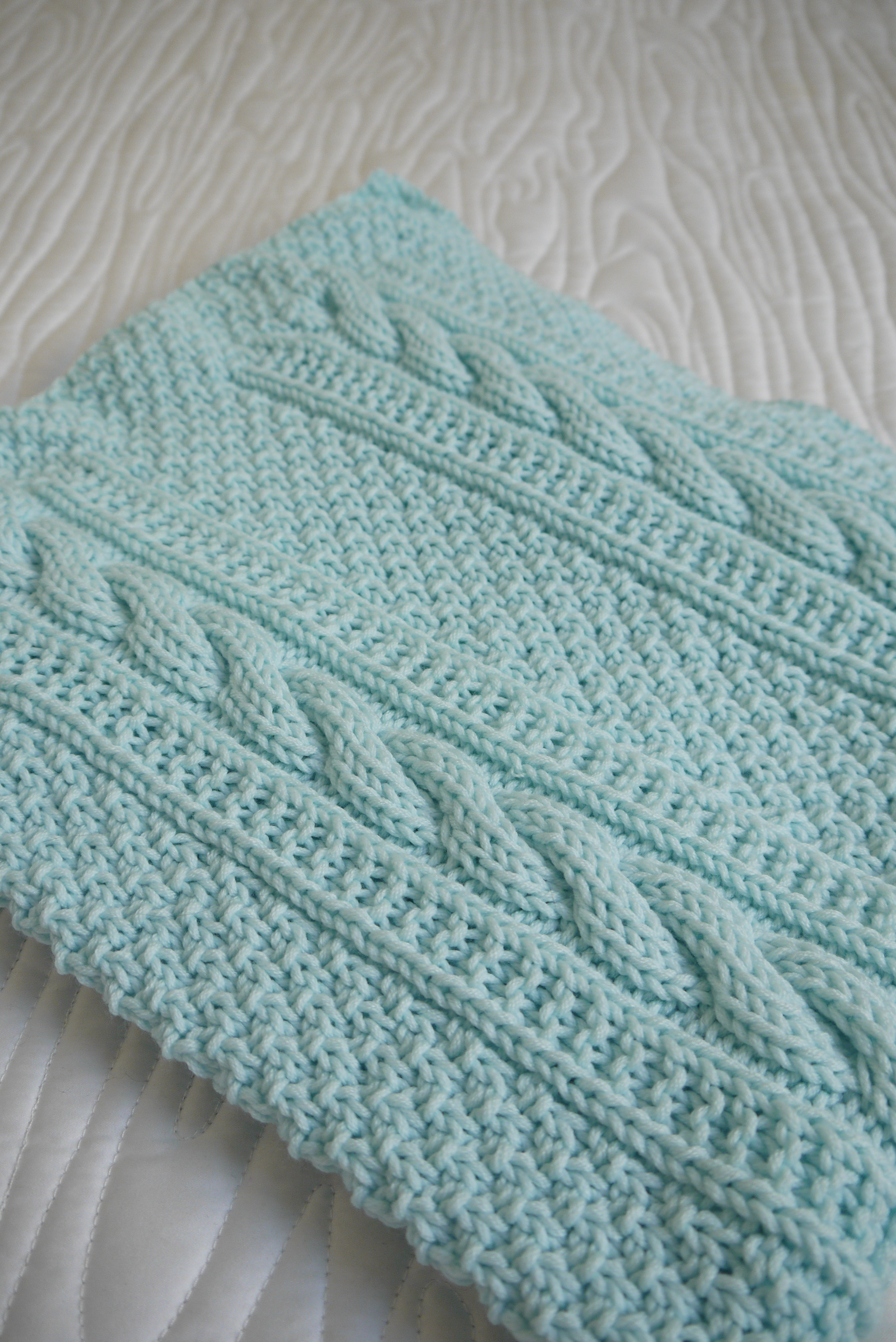New Baby Blanket Classic Cables Knitting Ideas Of Superb 43 Images Knitting Ideas