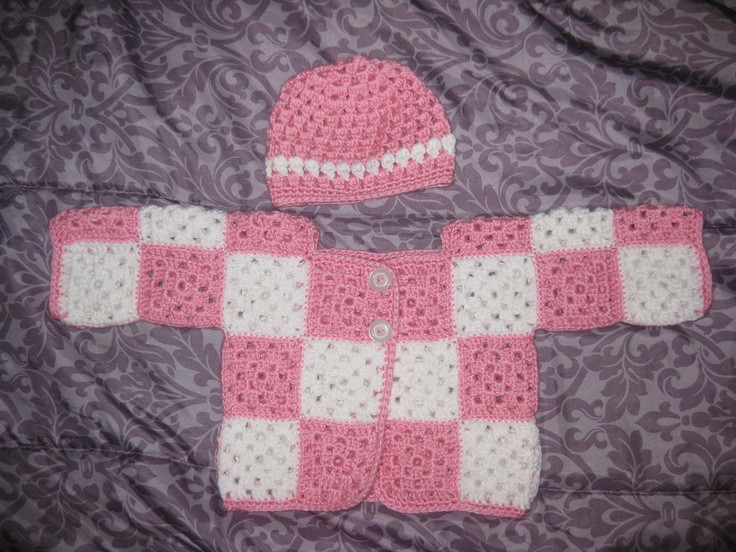 New Baby Girl Granny Square Sweater and Hat Kids Granny Square Sweater Of Superb 45 Photos Granny Square Sweater