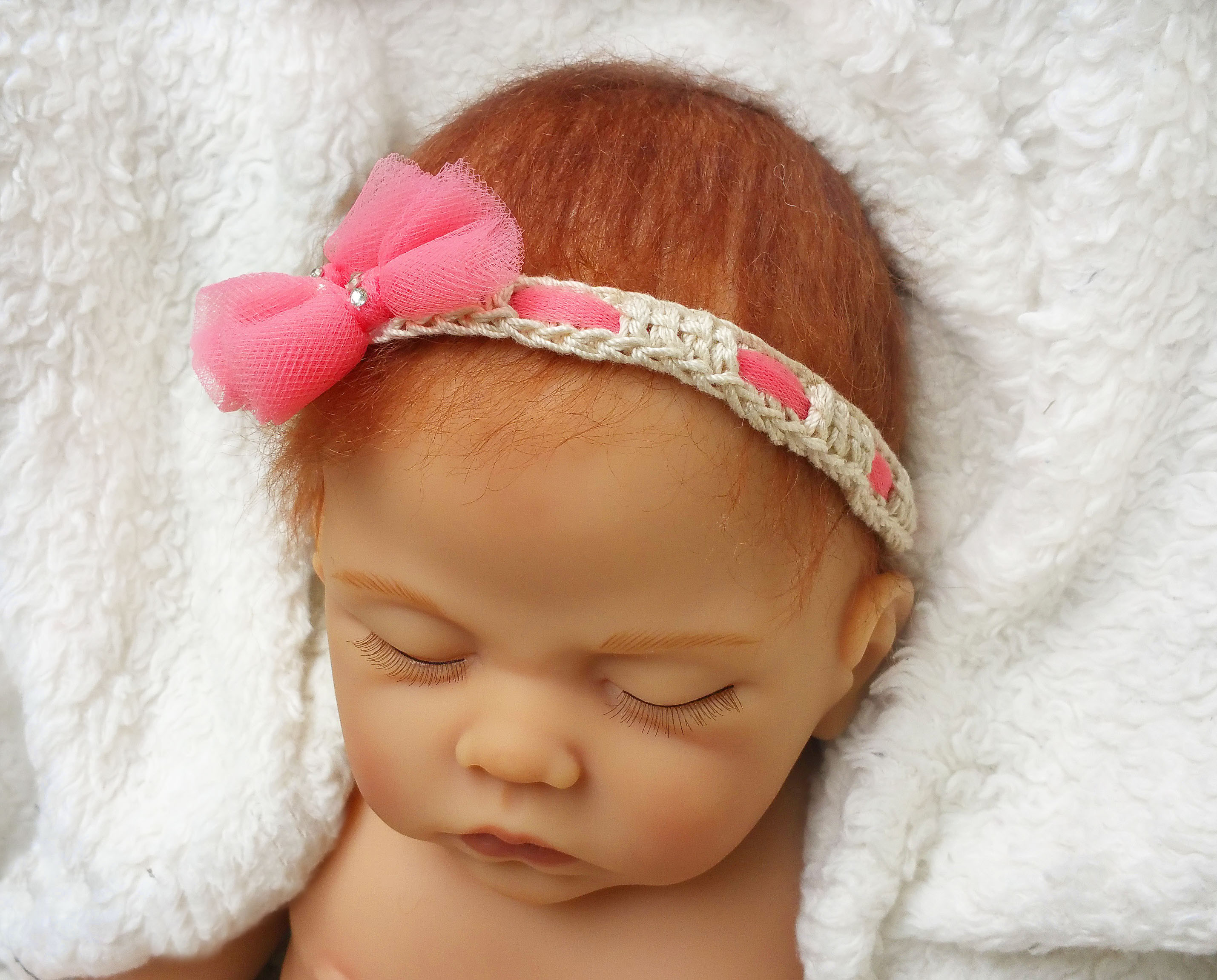 New Baby Headbands Bows Crochet Girl Shoes Baby Headband Set Crochet Headband for Babies Of Charming 46 Models Crochet Headband for Babies