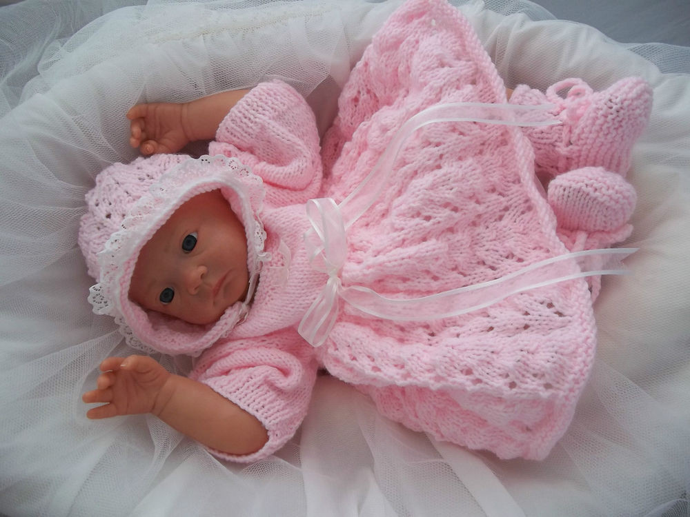 New Baby Knitting Pattern Dk 28 to Knit Girls Dress Bonnet Knitted Baby Dress Of Brilliant 49 Photos Knitted Baby Dress