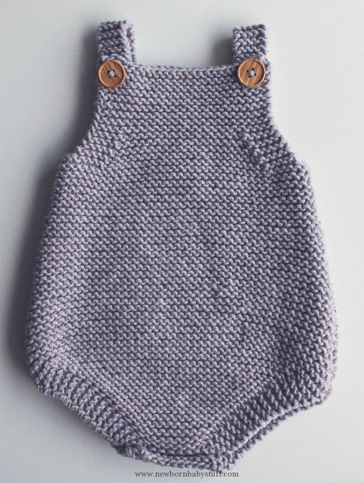 New Baby Knitting Patterns Free Knitting Pattern for Easy Baby Knitted Baby Romper Of Amazing 42 Ideas Knitted Baby Romper