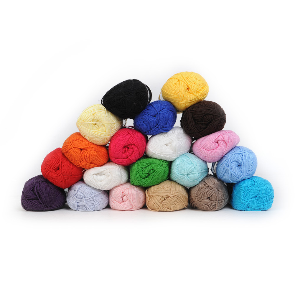 New Bamboo Cotton Yarn Knitting Yarn Natural Smooth 20 Colors Baby Yarn Colors Of Wonderful 38 Images Baby Yarn Colors