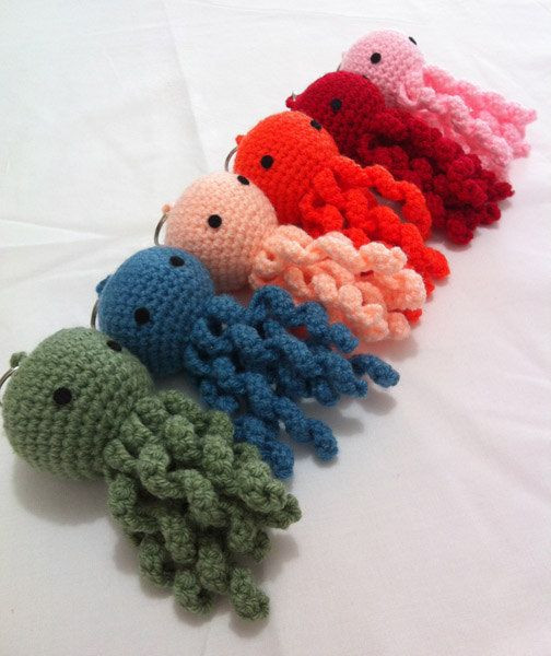 New Batch Octopus 6 Colors Crochet Keychain Crochet Keychains Of Fresh 49 Ideas Crochet Keychains