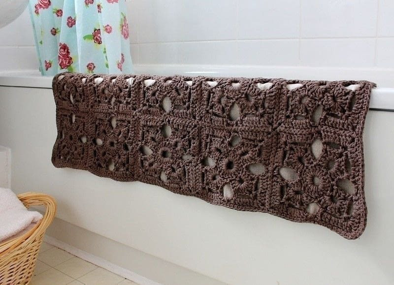 New Bath Mat · How to Make A Bath Mat · Yarncraft On Cut Out Crochet Bath Rugs Of Contemporary 44 Pictures Crochet Bath Rugs