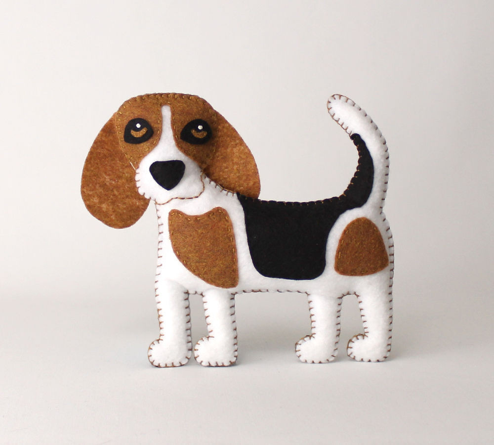 New Beagle Hand Sewing Pattern Felt Beagle softie Plush Dog Sewing Patterns Of Amazing 40 Images Dog Sewing Patterns