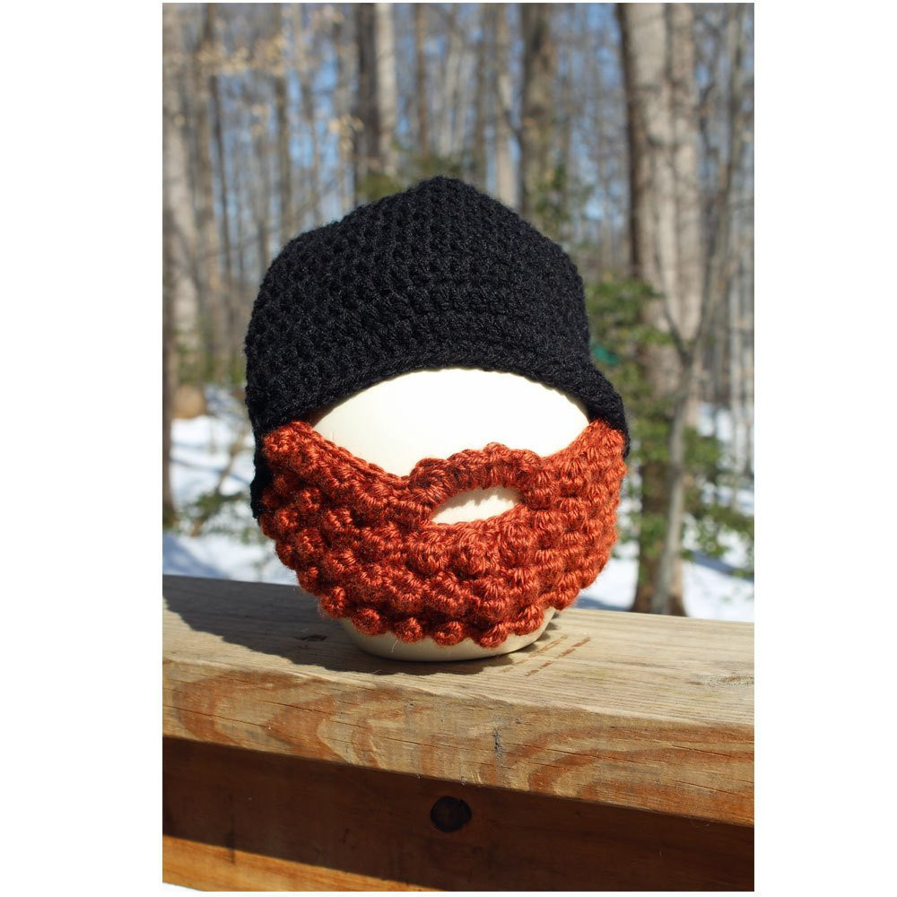 New Bearded Boys Hat Crochet Beard Beanie Hat Beard Hat Boys Crochet Beard Hat Of Charming 44 Models Crochet Beard Hat