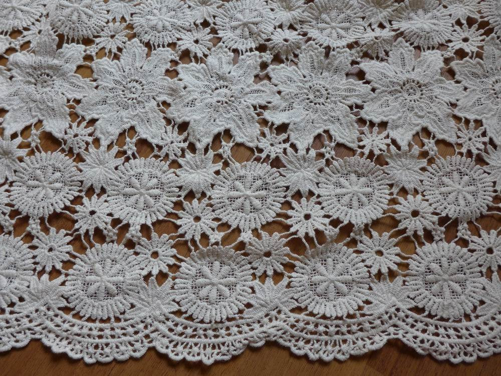 New Beige Cotton Crochet Fabric Antique Embroidery Cotton Lace Crochet Lace Fabric Of Attractive 45 Images Crochet Lace Fabric