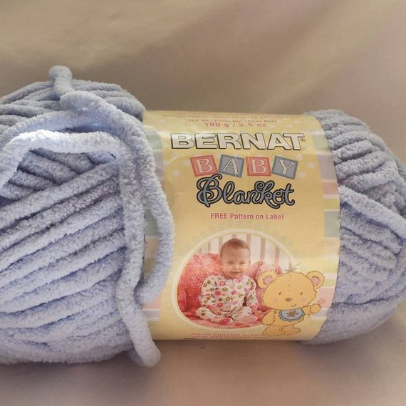 New Bernat Baby Blanket Baby Blue Super Bulky 1 Full Skein Bernat Chunky Blanket Yarn Of Fresh 50 Ideas Bernat Chunky Blanket Yarn