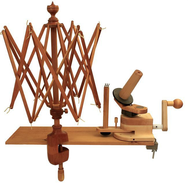 New Bo Maine Made Cherry Swift and Wooden Ball Winder Ball Winder Of Charming 40 Models Ball Winder