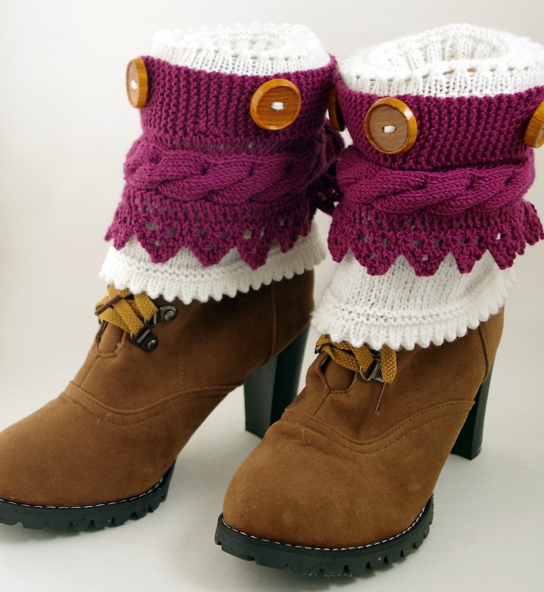 Boot Cuff Knitting Patterns