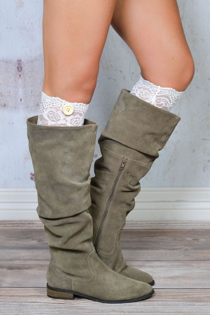 Boot Socks Cuffs & Boot Toppers for Women
