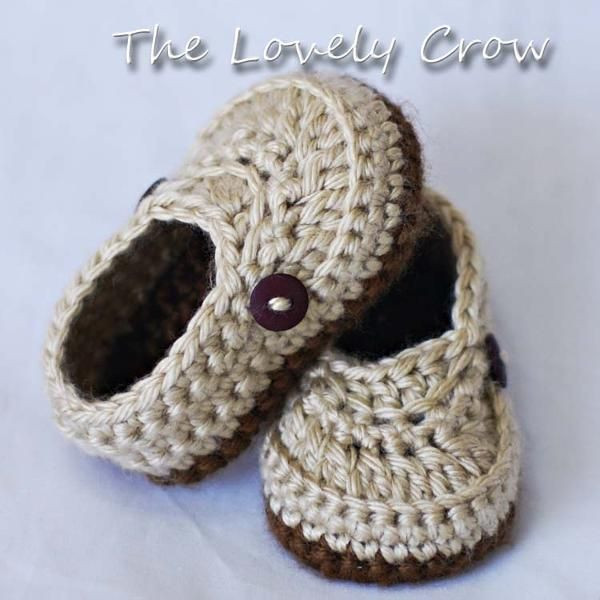 boys crochet slippers