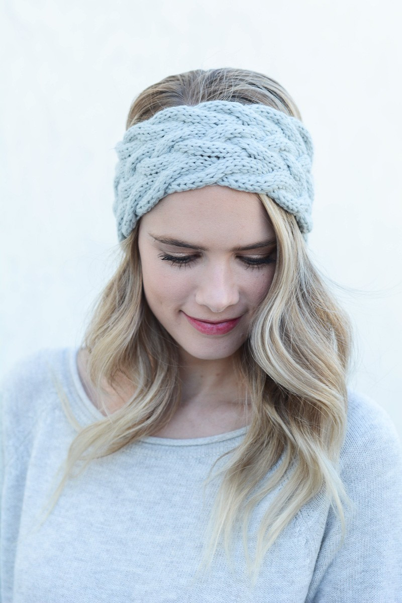 New Braided Cable Knit Headband Braided Knit Headband Of Amazing 42 Pics Braided Knit Headband