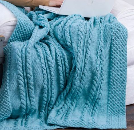 New Bramble Border Cable Throw Knitted Throw Pattern Of Awesome 45 Photos Knitted Throw Pattern