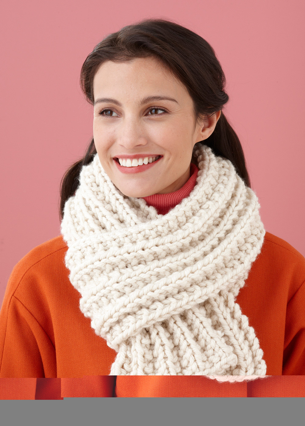 New Brisbane Scarf In Lion Brand Wool Ease Thick & Quick F Lion Brand Crochet Patterns Of New 46 Ideas Lion Brand Crochet Patterns