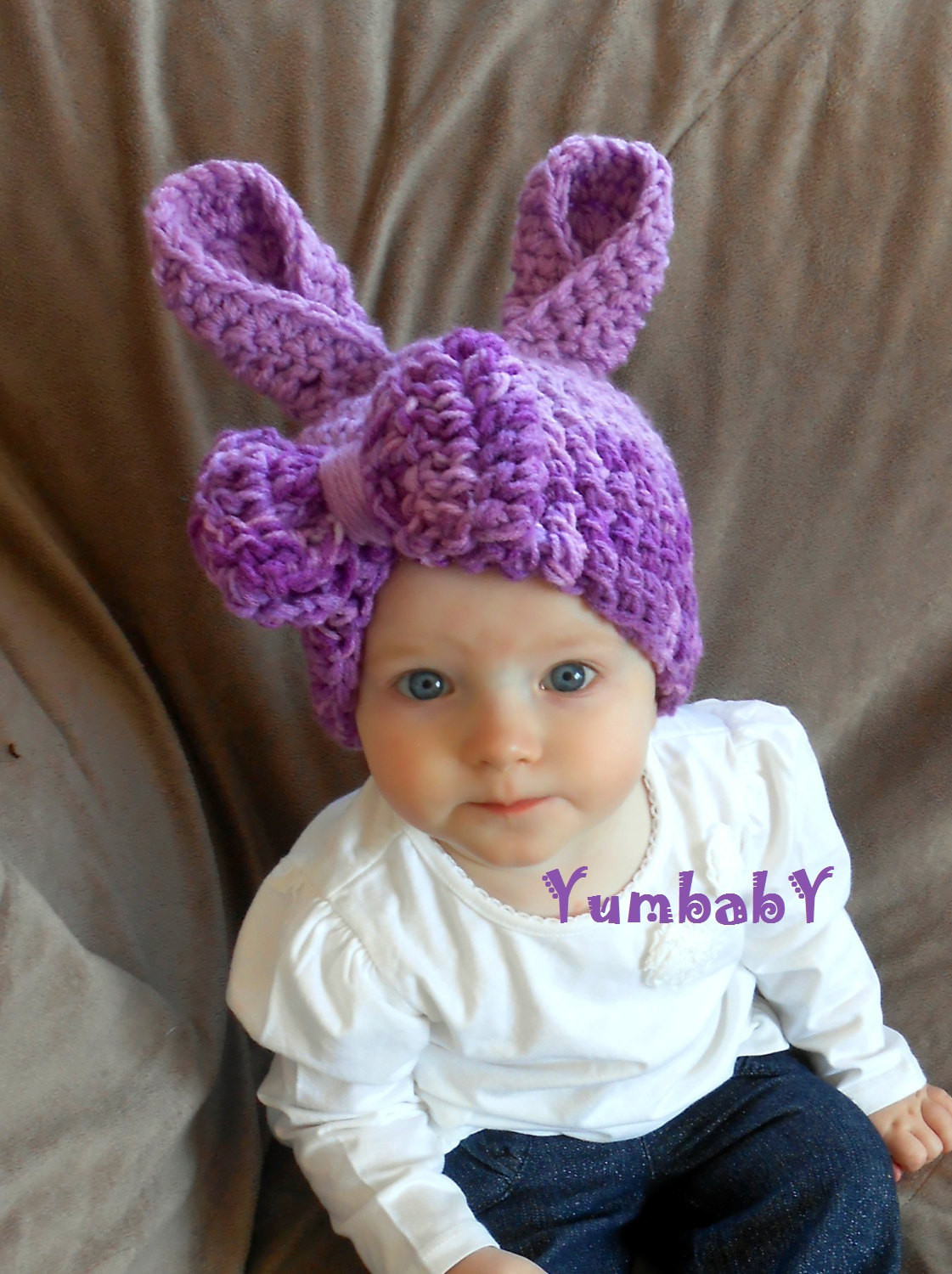 New Bunny Hat Newborn Bunny Hat Baby Girl Purple Easter Bunny with Baby Bunny Hat Of Brilliant 47 Pictures Baby Bunny Hat