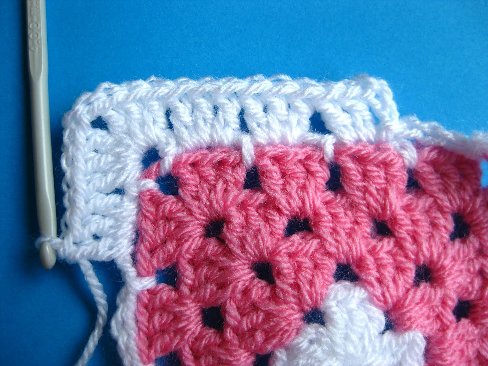 New Bunny Mummy Adding A Chain Round to Granny Squares A Granny Square Tutorial Of Charming 40 Ideas Granny Square Tutorial