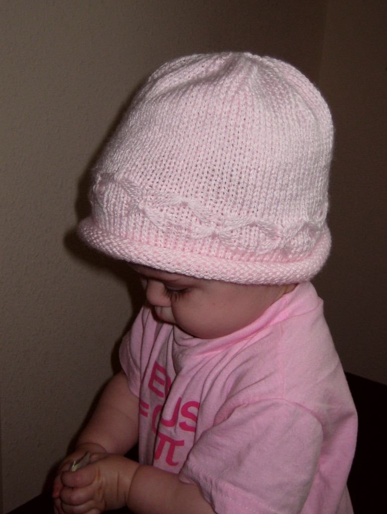 New butterfly Baby Hat Free Knitting Pattern From the Baby Knitting Baby Cap Of Lovely 48 Photos Knitting Baby Cap