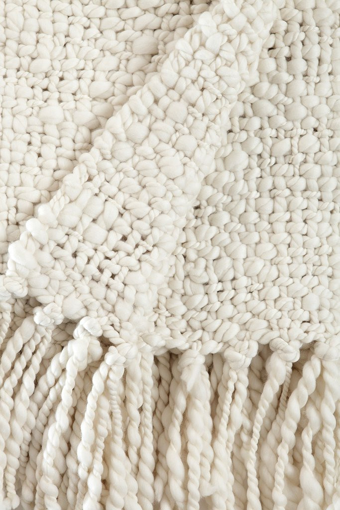 chunky cable knit throw blanket alma