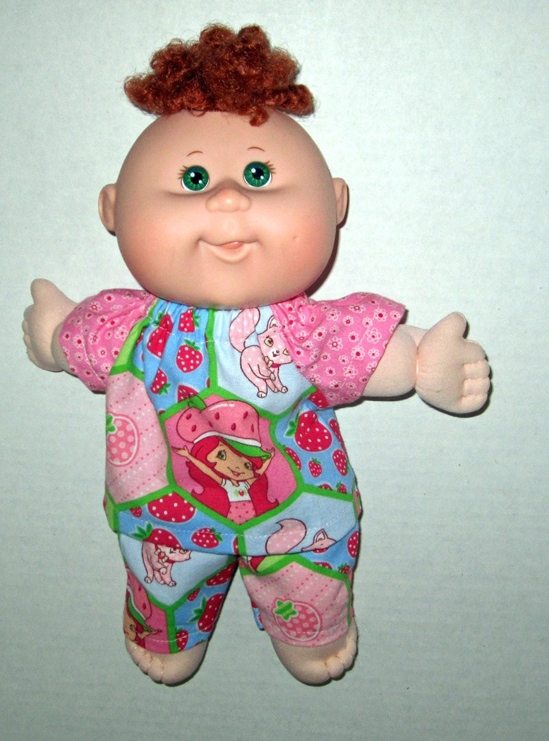 cabbage patch newborn doll clothes pink