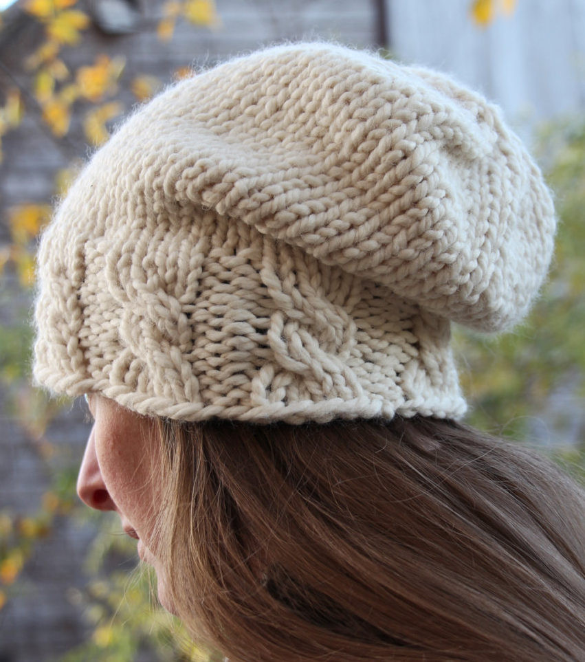 Cable Hat Knitting Patterns