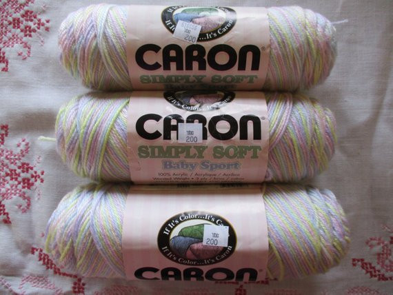 New Caron Baby Yarn Simply soft Baby Sport 3 Ply Ombre Variegated Caron Baby Yarn Of Superb 49 Ideas Caron Baby Yarn