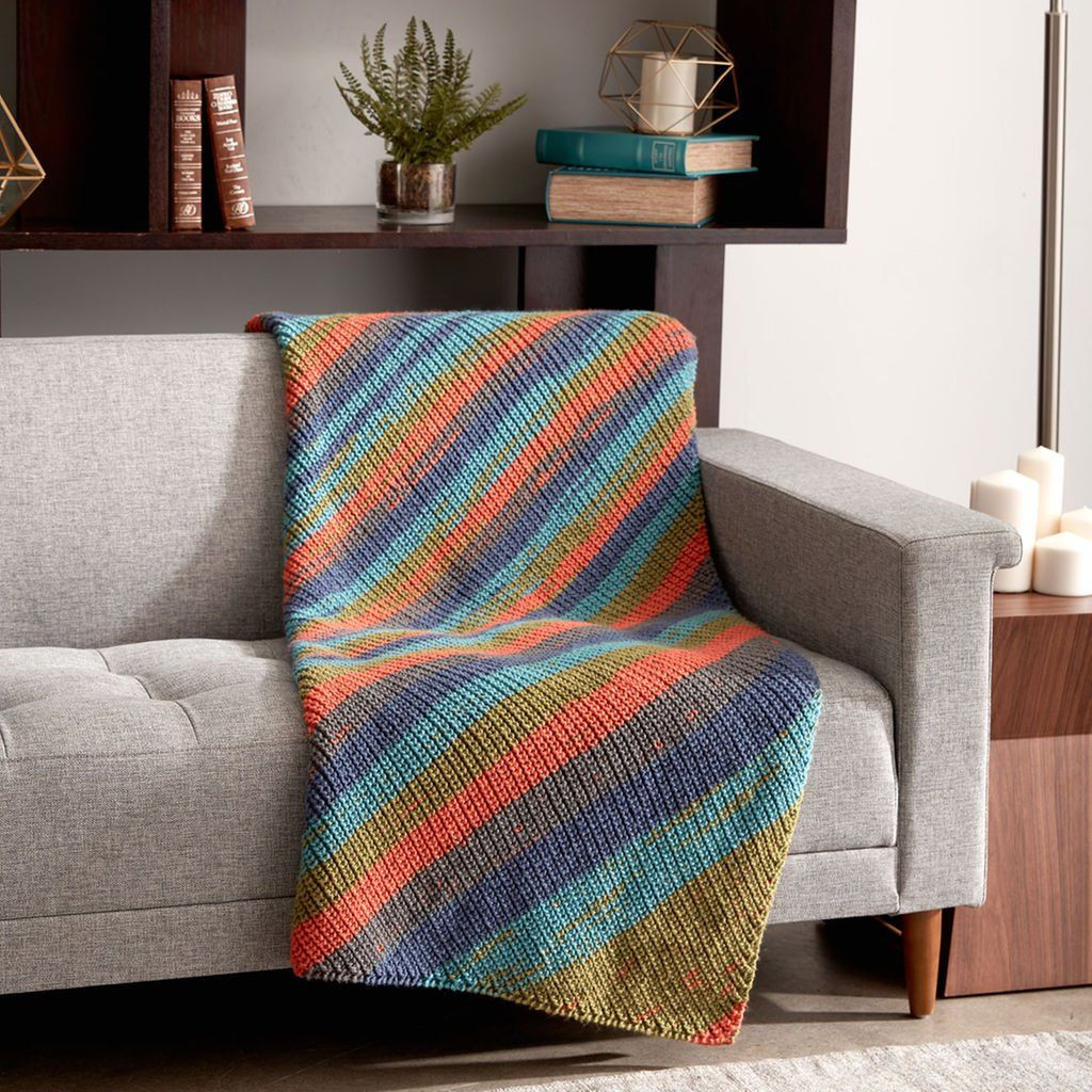 New Caron Big Cakes™ Shake It Up Knit Blanket In Cornucopia Caron Big Cakes Colors Of Wonderful 44 Photos Caron Big Cakes Colors