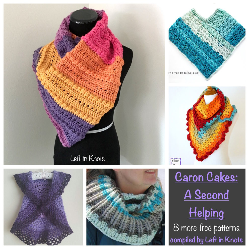 New Caron Cakes A Second Helping — Left In Knots Caron Cakes Crochet Patterns Free Of Marvelous 40 Pictures Caron Cakes Crochet Patterns Free