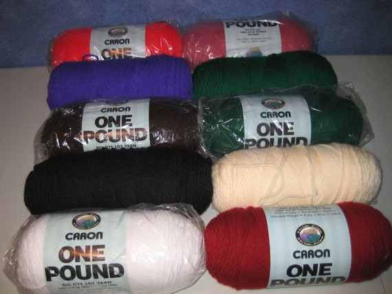 Caron e Pound Yarn Soft Pink