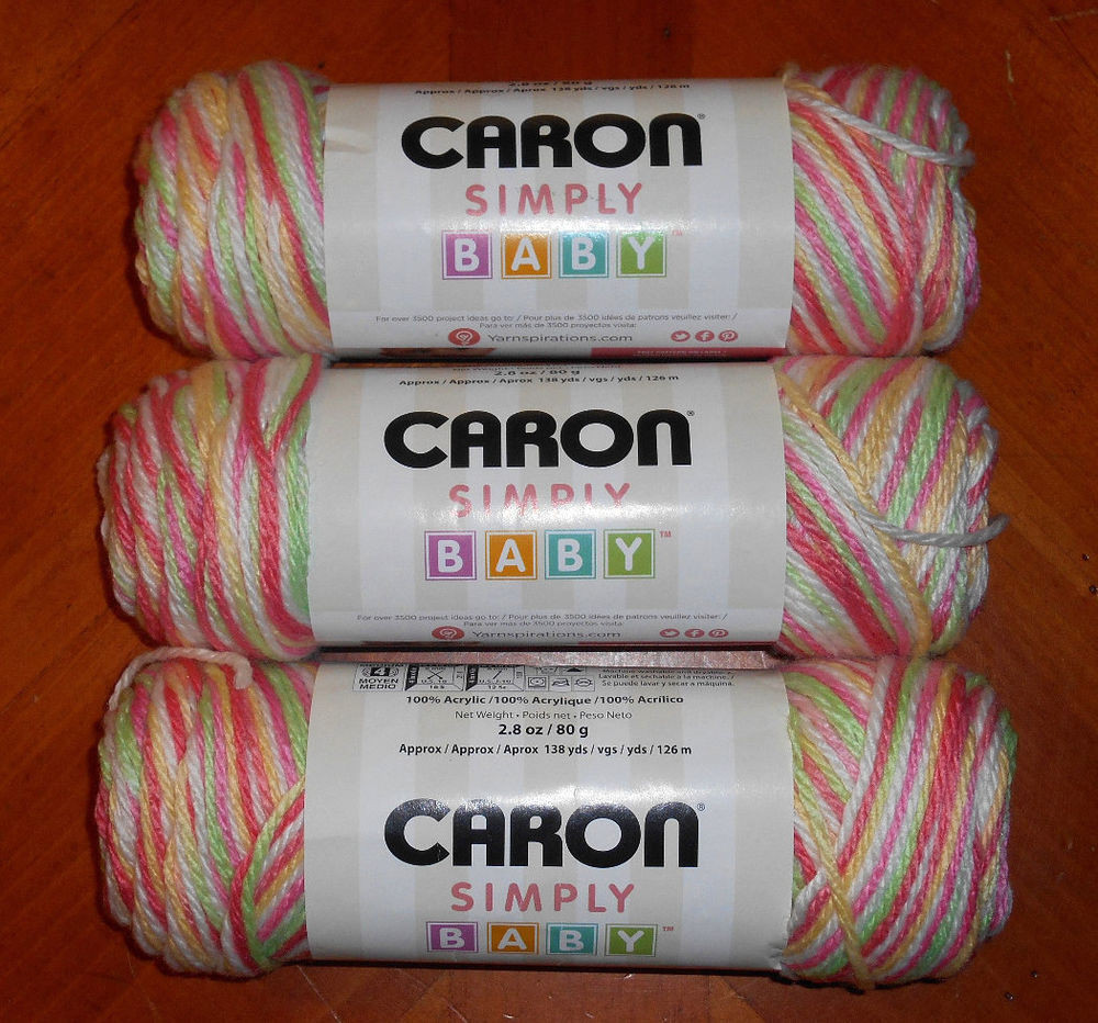 New Caron Simply soft Baby Yarn Lot 3 Skeins Li L Bouquet Baby soft Yarn Of Gorgeous 49 Pictures Baby soft Yarn