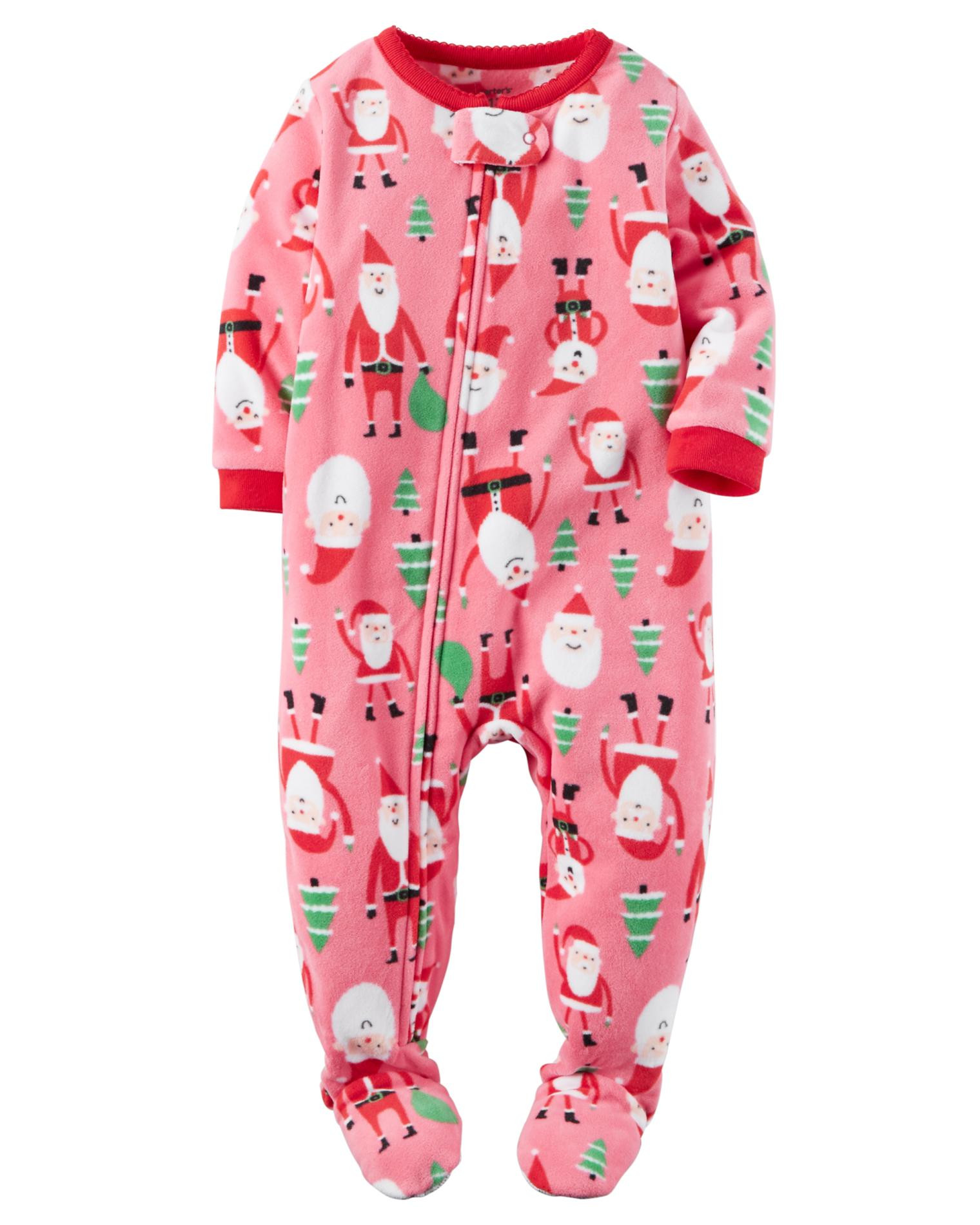 New Carter S Infant & toddler Girls Fleece Footed Pajamas Baby Pajamas with Feet Of Delightful 40 Photos Baby Pajamas with Feet
