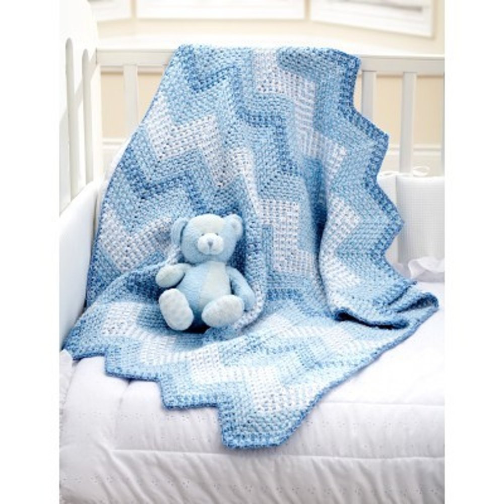 New Cascading Ripples Blanket In Bernat Baby Coordinates Bernat Baby Blanket Knitting Patterns Of Charming 43 Models Bernat Baby Blanket Knitting Patterns