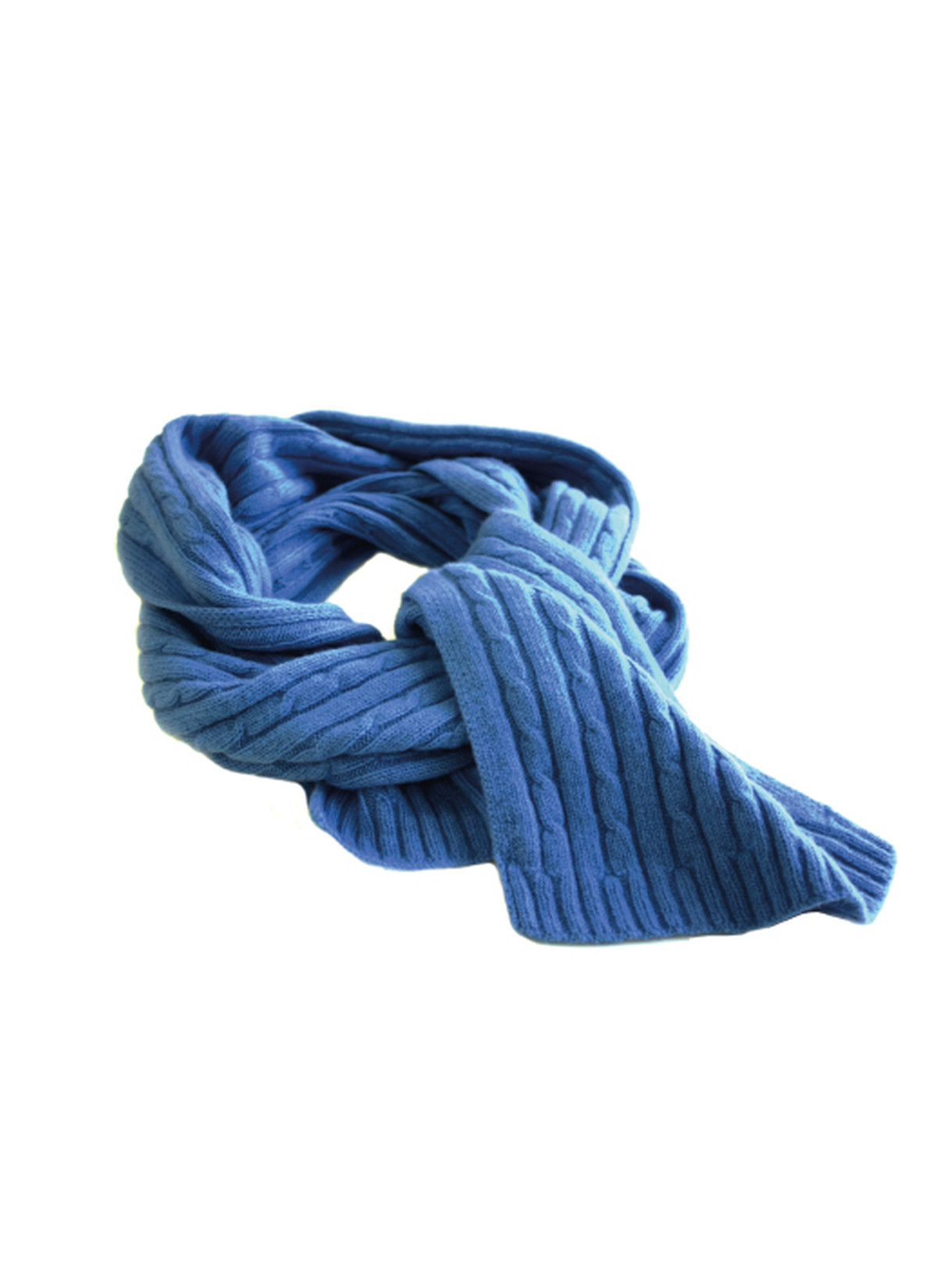 New Cashmere Knitted Cable Scarf In Blue – Sinclair Duncan Cable Scarf Of Innovative 49 Ideas Cable Scarf