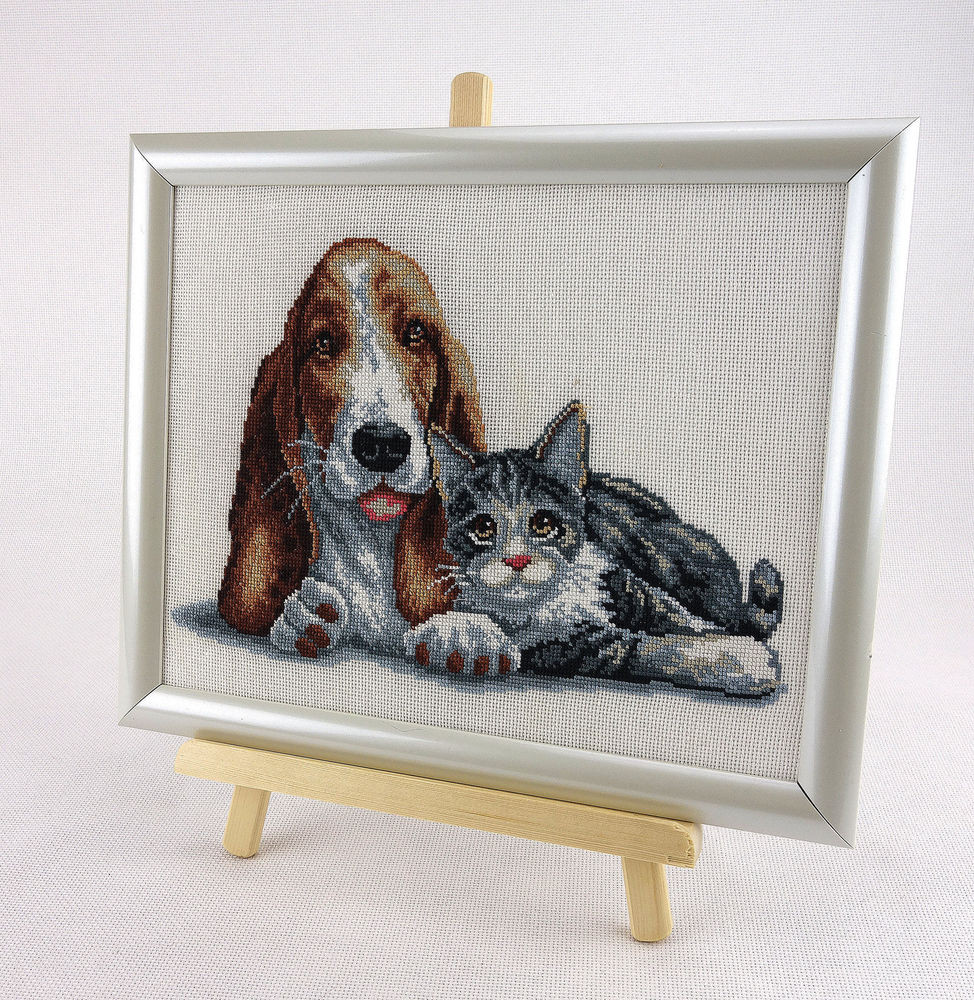 New Cat & Dog Counted Cross Stitch Kit with Color Symbolic Cat Cross Stitch Kits Of Perfect 42 Pics Cat Cross Stitch Kits