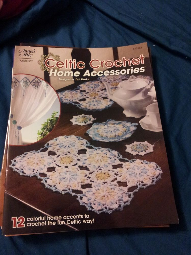 New Celtic Crochet Home Accessories Crochet Pattern Book Annie Annie's attic Crochet Of Lovely 45 Pics Annie's attic Crochet