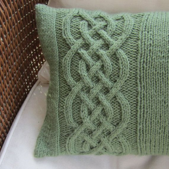 New Celtic Knot Cable Hand Knit Pillow Irish Knitting Patterns Of Amazing 50 Pictures Irish Knitting Patterns