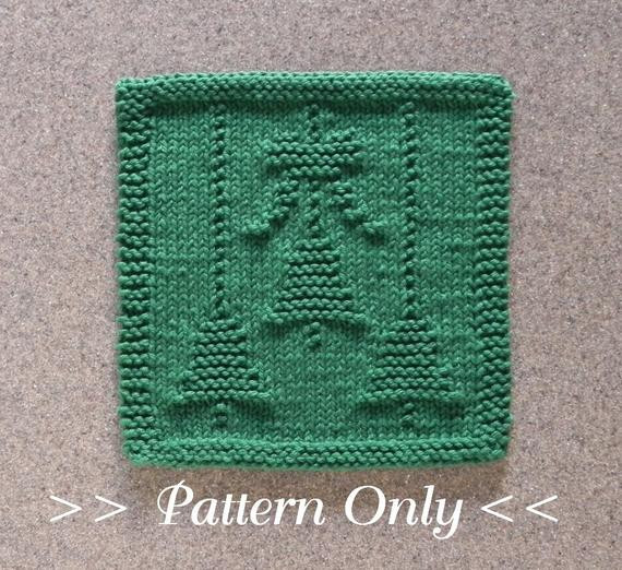 New Christmas Bells & Bow Knit Dishcloth Pattern Pdf Instant Knitted Dishcloth Patterns for Christmas Of Adorable 43 Pics Knitted Dishcloth Patterns for Christmas