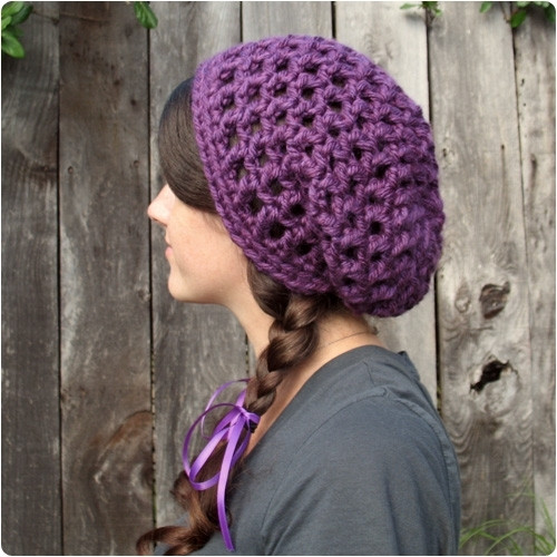 New Chunky Purple Crochet Hat Knitting is Awesome Chunky Crochet Beanie Pattern Of Attractive 42 Pics Chunky Crochet Beanie Pattern