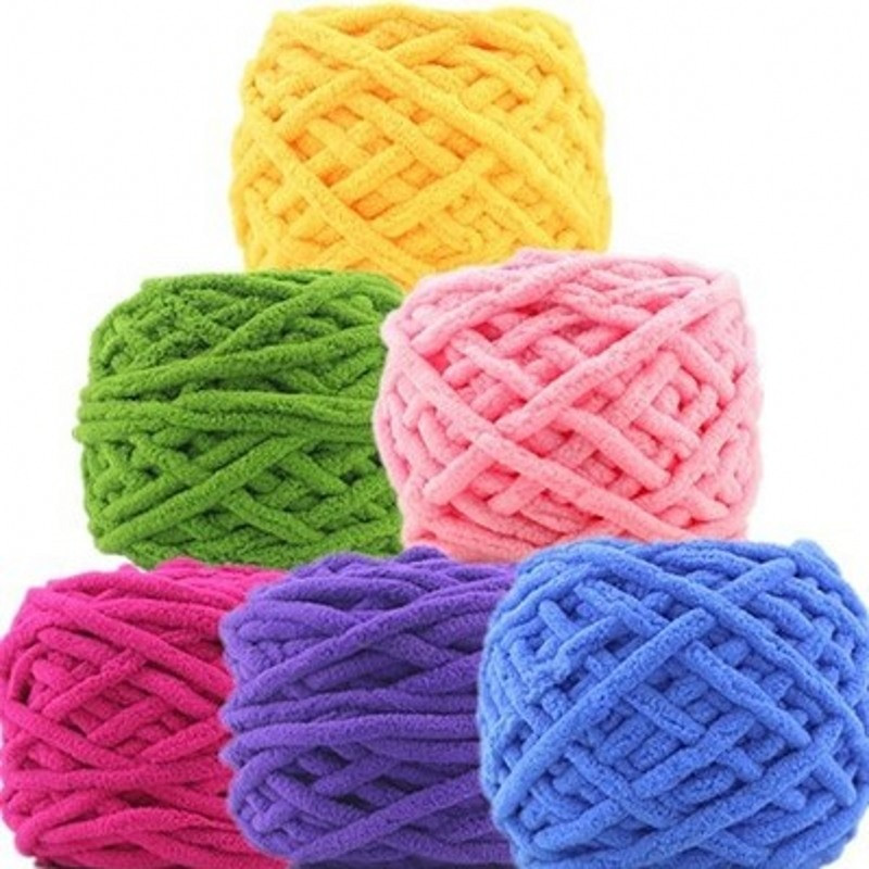New Colorful Dye Scarf Hand Knitted Yarn for Hand Knitting Hand Crochet Yarn Of Delightful 43 Models Hand Crochet Yarn