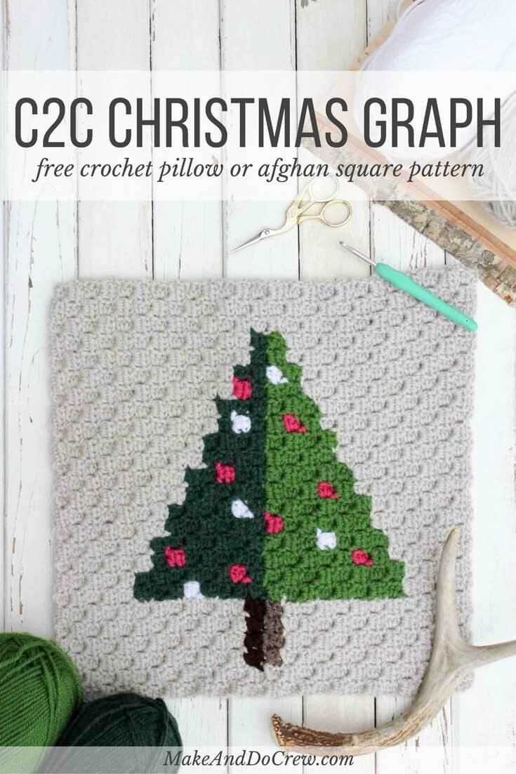 New Corner to Corner Crochet Christmas Tree Free Pattern Crochet Christmas Trees Of Marvelous 46 Ideas Crochet Christmas Trees