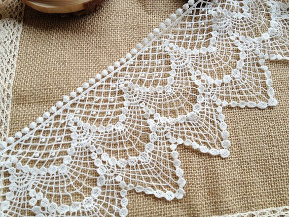 New Cotton Crochet Lace Vintage Cotton Lace White Cotton Fabric Crochet Lace Fabric Of Attractive 45 Images Crochet Lace Fabric