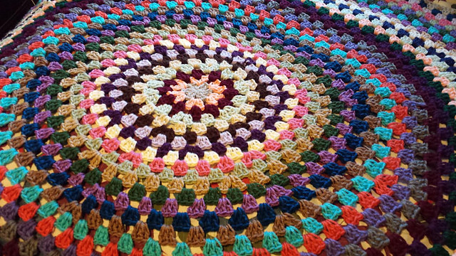 Crochet Adventures Crochet Pattern Granny Style Circle