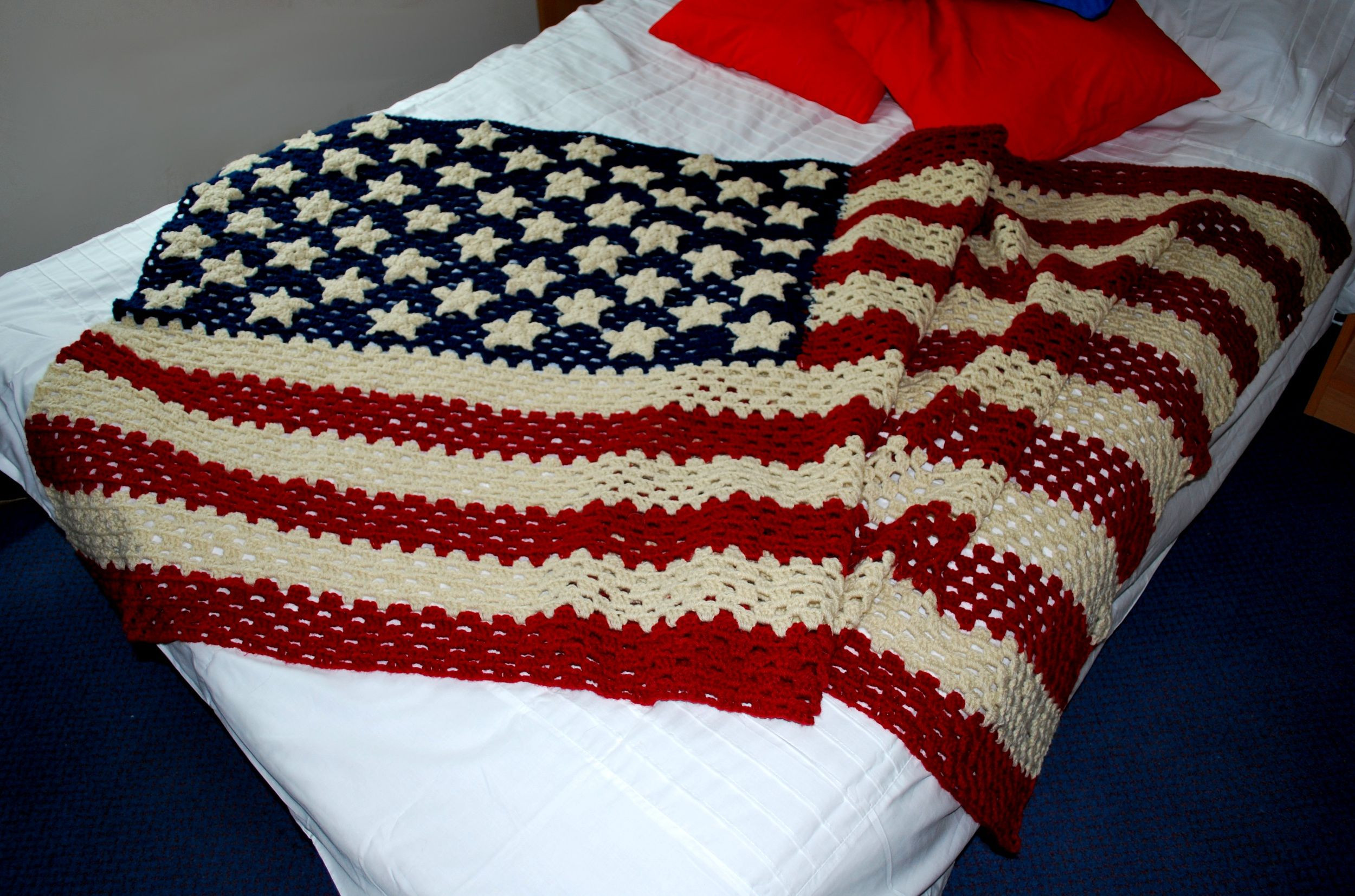 New Crochet American Flag Bing Images American Flag Crochet Blanket Of Gorgeous 42 Ideas American Flag Crochet Blanket