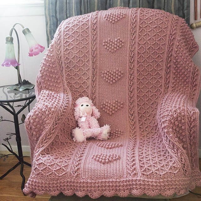 New Crochet Aran Baby Blanket Pattern Pakbit for Aran Crochet Afghan Pattern Of Gorgeous 41 Pics Aran Crochet Afghan Pattern